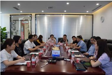 常熟市委组织部、科技局领导一行莅临虹识技术参观考察