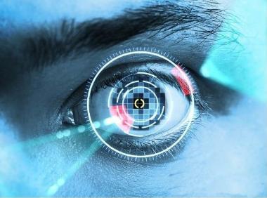 虹膜识别:双目虹膜锁